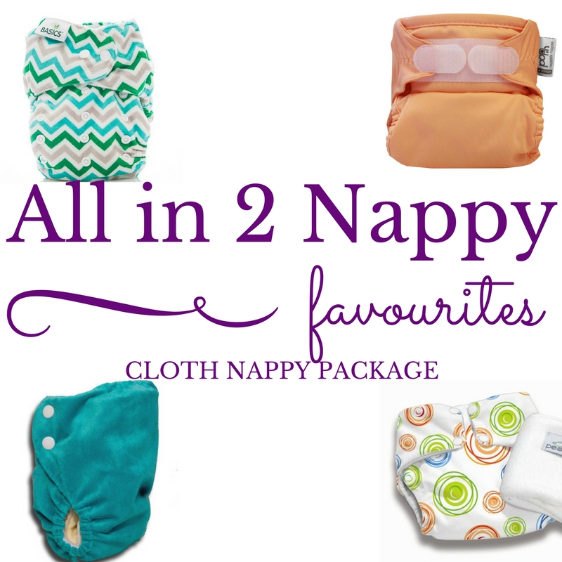 All-in-Two Cloth Nappy Starter Pack