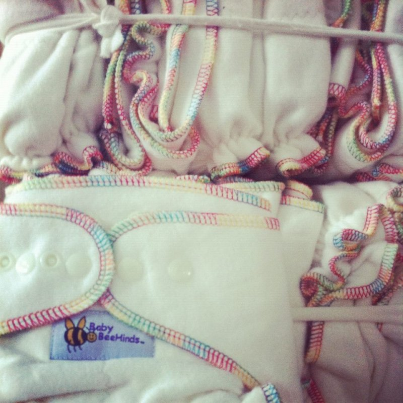 Baby Beehinds Bamboo One Size Fitted Nappy PACKAGES