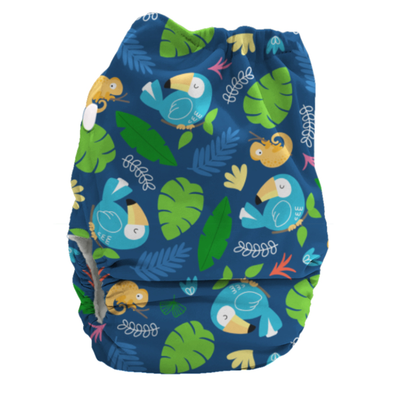 Bubblebubs BoPeep All-in-2 Newborn Nappy