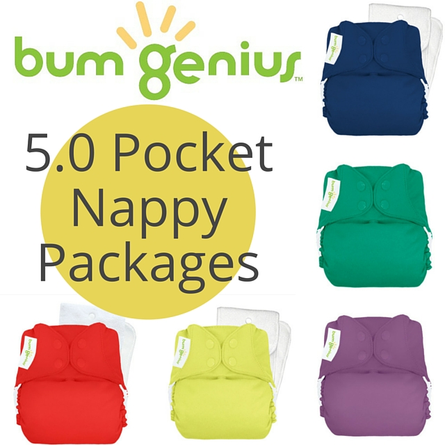 Bumgenius Original 50 One Size Nappy Packages