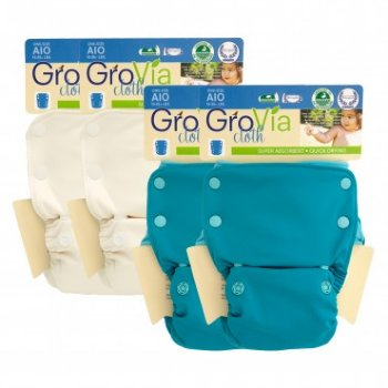 GroVia All-in-One Nappy PACKAGES