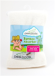 Pea Pods Bamboo Absorber - for Pea Pods ONE Size Nappies