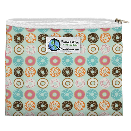 Planet Wise Reusable Zipper Sandwich Bag