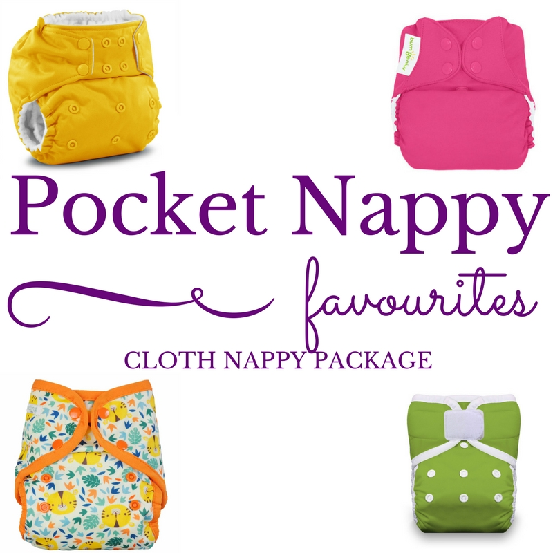 Pocket Cloth Nappy Starter Pack