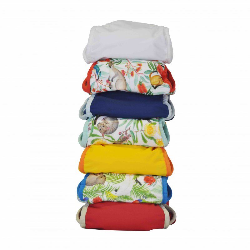 Seedling Baby 7 Pack Nappy Bundle