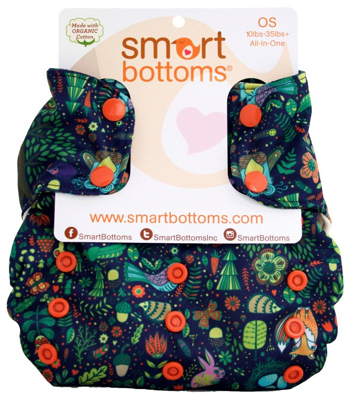 Smart Bottoms Onesize Organic 3.1 Cloth Nappy