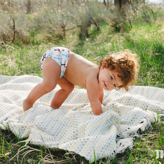 Thirsties Natural One Size All-in-One Cloth Nappy