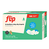 Flip Newborn Stay-Dry Inserts – 6 Pack