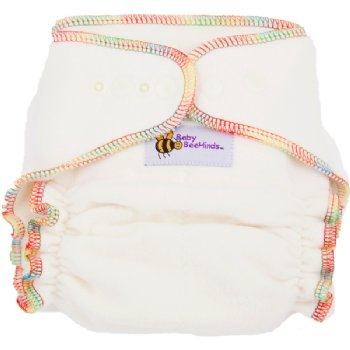Baby Beehinds Bamboo One Size Fitted Nappy